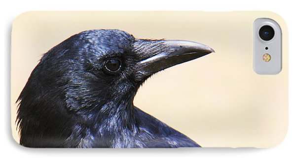 Glossy Crow Phone Case by Bob and Jan Shriner