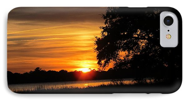 IPhone Case featuring the photograph Glow Of Night by Joetta Beauford