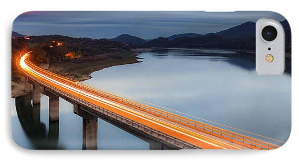 Glowing Bridge IPhone Case by Evgeni Dinev