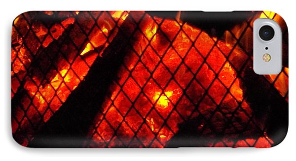 IPhone Case featuring the photograph Glowing Embers by Darren Robinson