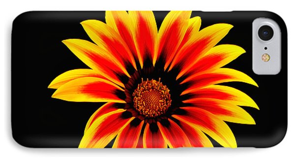 Glowing Flower IPhone Case by Marwan Khoury