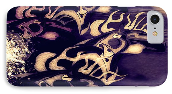 Glowing Horse Series 5 Phone Case by Teri Schuster