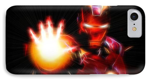 Glowing Iron Man IPhone Case