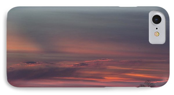 Glowing Plains IPhone Case by Michael Waters