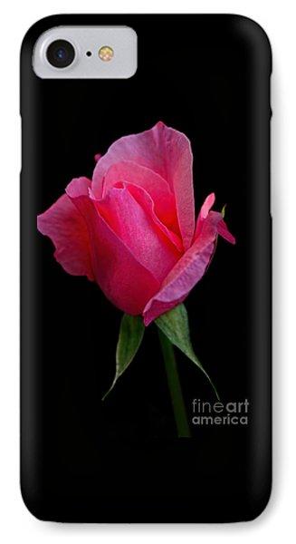Glowing Rose By Kaye Menner IPhone Case
