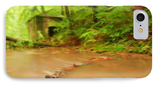 IPhone Case featuring the photograph Glowing Stream by Maciej Markiewicz