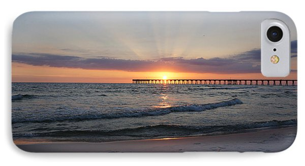 Glowing Sunset IPhone Case by Sandy Keeton