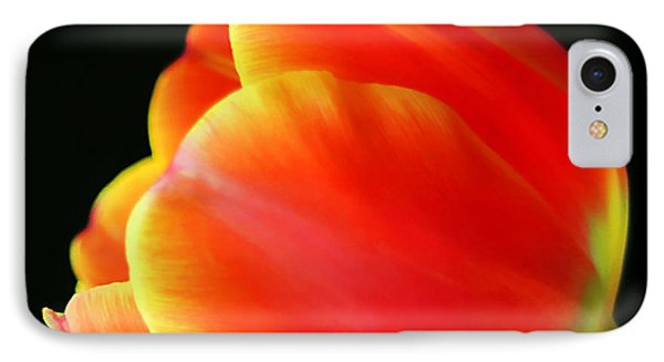 Glowing Tulip Phone Case by Darren Fisher