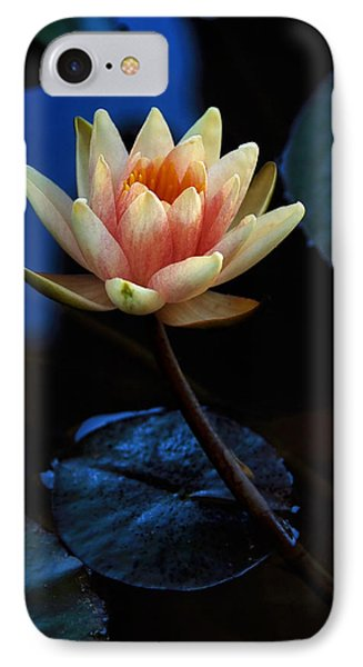 Glowing Waterlily IPhone Case