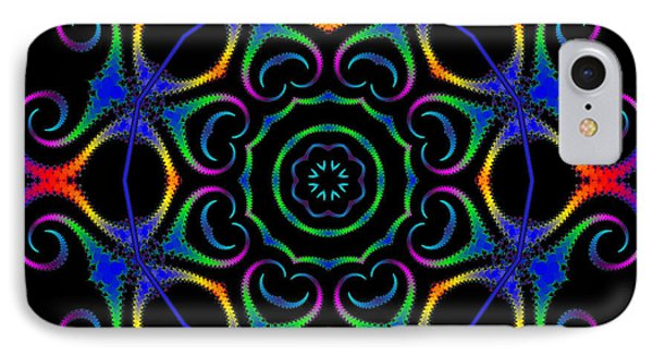 Glowworm Circle Phone Case by Pat Follett