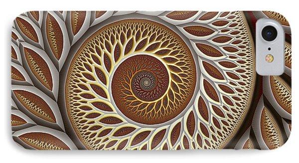 Glynn Spiral No. 2 Phone Case by Mark Eggleston
