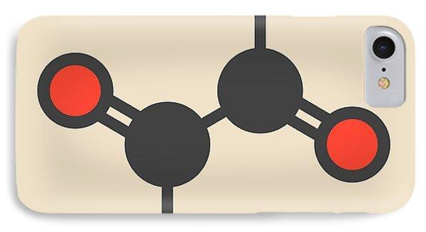 Glyoxal Dialdehyde Molecule IPhone Case by Molekuul
