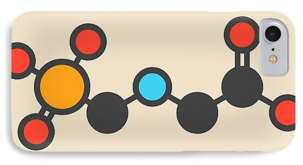 Glyphosate Herbicide Molecule IPhone Case by Molekuul
