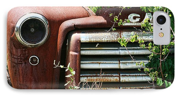 Gmc Grill Work Phone Case by Kathy Clark
