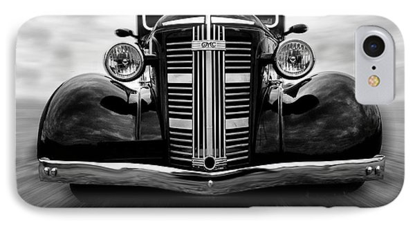 Gmc On The Move IPhone Case by Keith Hawley