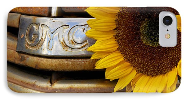 Gmc Sunflower IPhone Case by Steven Bateson