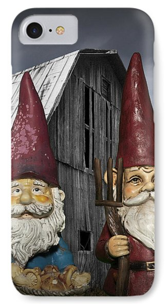 Gnome Gothic IPhone Case by Randall Nyhof
