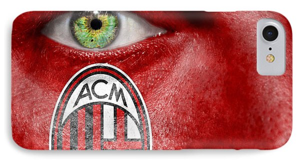 Go Ac Milan IPhone Case by Semmick Photo