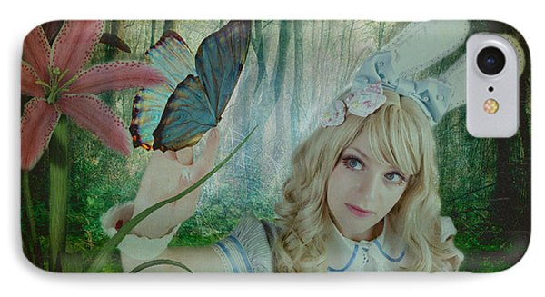 Go Ask Alice Phone Case by Christine Holding