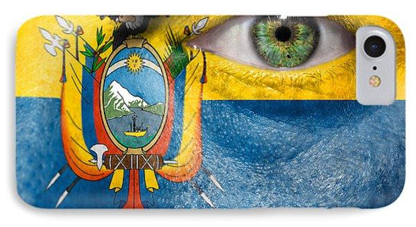Go Ecuador IPhone Case