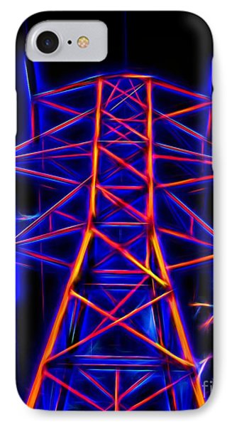 Go Glow In Topaz IPhone Case