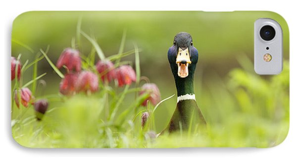 Go Home Duck You're Drunk IPhone Case by Roeselien Raimond