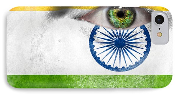Go India Phone Case by Semmick Photo