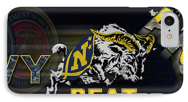 Go Navy Beat Army IPhone Case