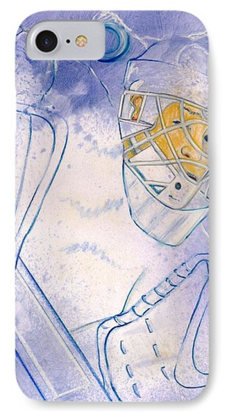 Goalie Missed Phone Case by Rosemary Hayes