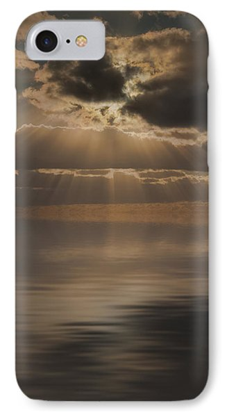 God At Work Phone Case by Andy Astbury