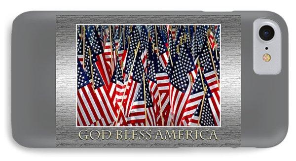 God Bless America Phone Case by Carolyn Marshall