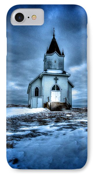 God It's Cold IPhone Case by Kevin Bone