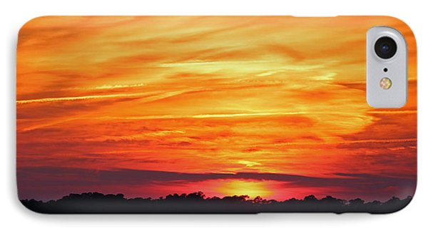 God Paints The Sky IPhone Case by Cynthia Guinn