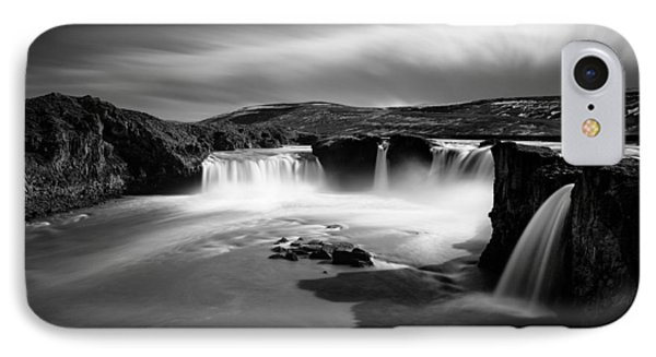 Godafoss IPhone Case by Dave Bowman