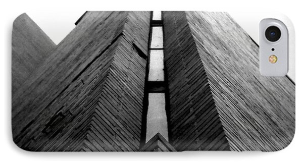 Goddard Stair Tower - Black And White IPhone Case by Joseph Skompski