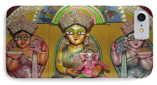 Goddess Durga Phone Case by Pradip kumar  Paswan