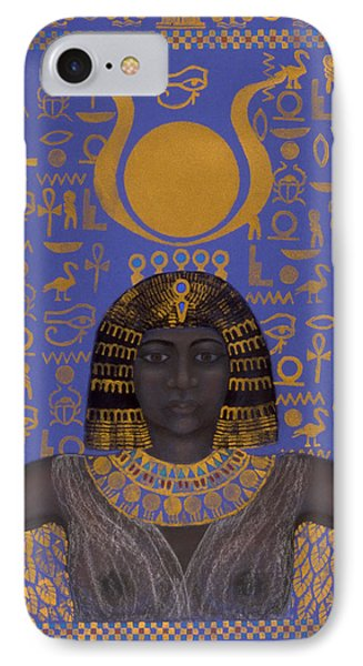 Goddess Isis Phone Case by Diana Perfect