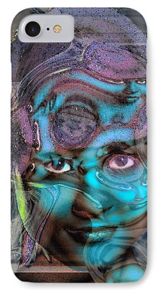 IPhone Case featuring the photograph Goddess Of Love And Confusion by Richard Thomas