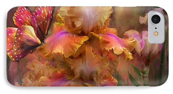 Goddess Of Sunrise IPhone 7 Case by Carol Cavalaris