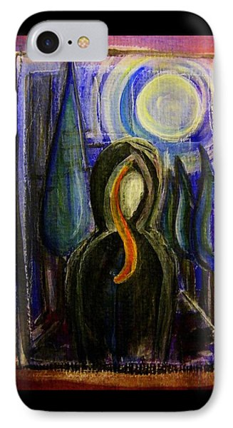 Goddess Under The Cypress Moon IPhone Case by Mimulux patricia no No
