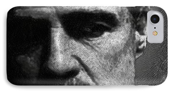 Godfather Marlon Brando IPhone Case by Tony Rubino