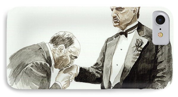 Godfather IPhone Case by Timothy Ramos