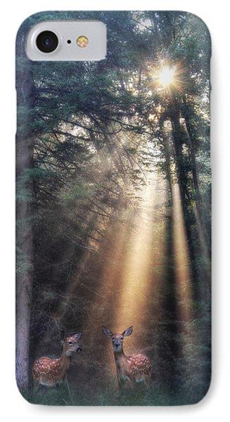 God's Creatures Phone Case by Lori Deiter