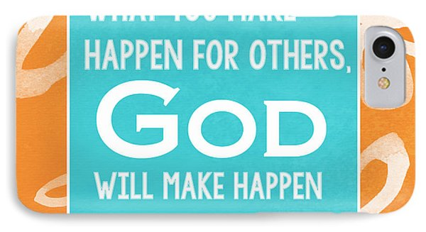 God's Gift Phone Case by Linda Woods