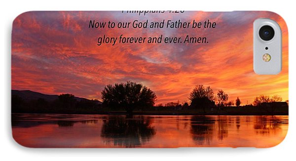 IPhone Case featuring the photograph God's Glory by Lynn Hopwood