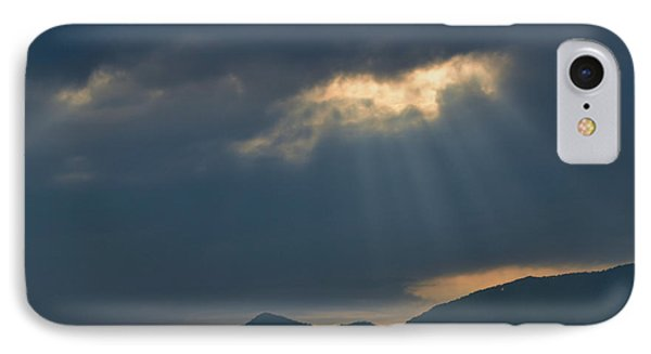 Gods Morning Rays IPhone Case