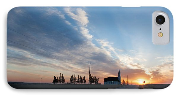 IPhone Case featuring the photograph Gods Sunrise Over His Church by Dawn Romine