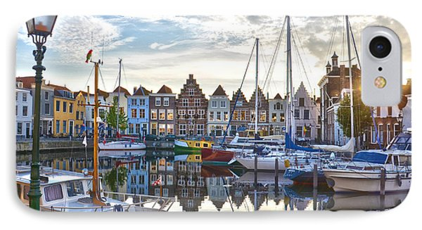 IPhone Case featuring the photograph Goes Harbour by Frans Blok