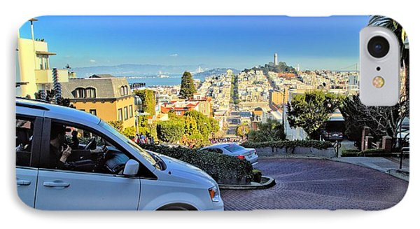 Going Down Lombard Street IPhone Case