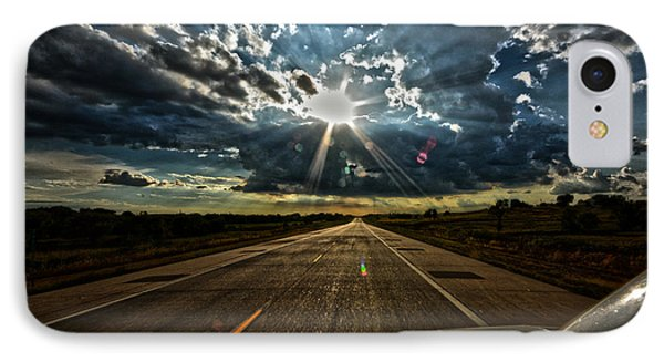 IPhone Case featuring the photograph Going Home by Brian Duram